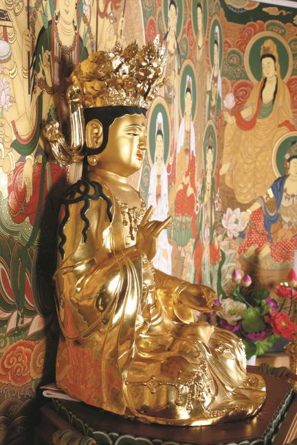 보물 제1790호 양평 용문사 금동관음보살좌상(2012년 국보,보물 지정보고서)