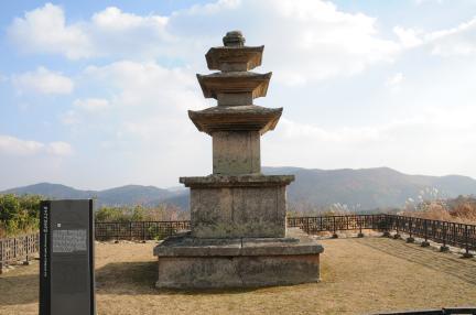 보물 제1656호 성주 법수사지 삼층석탑(2010년 국보,보물 지정보고서)