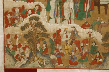 보물 제1696호 하동 쌍계사 감로왕도(2010년 국보,보물 지정보고서)