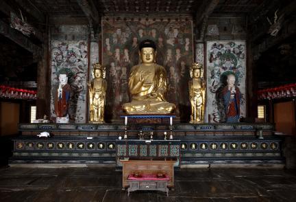보물 제1744호 경주 불국사 대웅전(2011년 국보,보물 지정보고서)