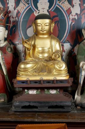 보물 제1689호 진주 청곡사 목조지장보살삼존상 및 시왕상 일괄(2010년 국보,보물 지정보고서)