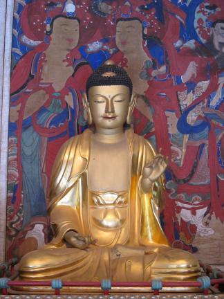 보물 제1863호 해남 대흥사 석가여래삼불좌상