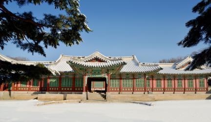 창덕궁 희정당 권역 전경 겨울