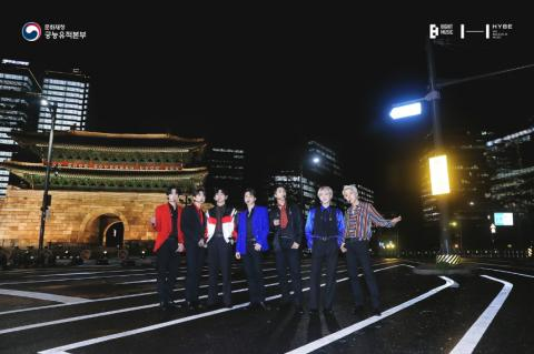 BTS와 국보 '숭례문'의 만남